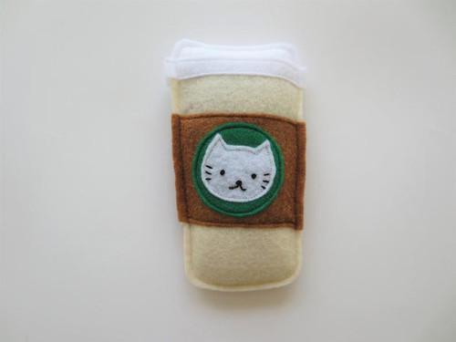 Organic Catnip Hot Drink Toy