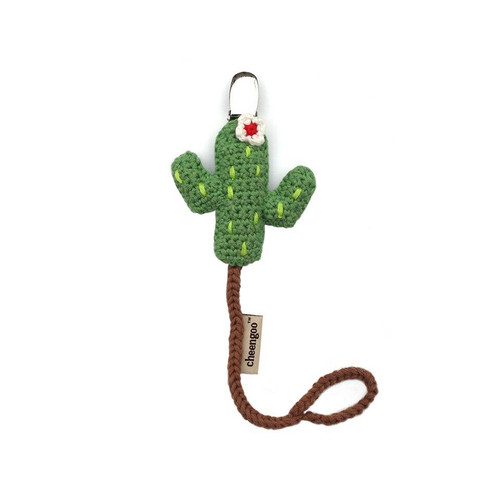 Cactus Pacifier Clip