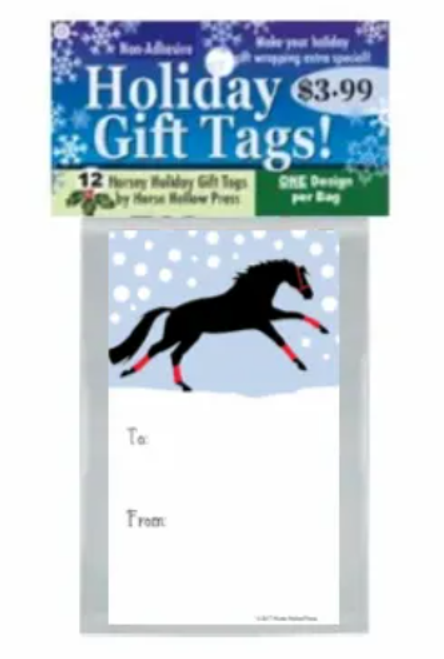 Gift Tags - 12 Pack - Gallop