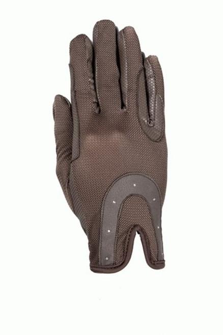 USG RSL Good Luck Riding Gloves - Brown