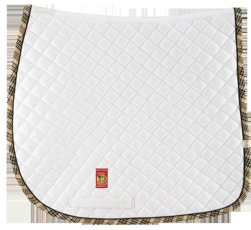 LÉTTIA Collection Baker Dressage Saddle Pad - White