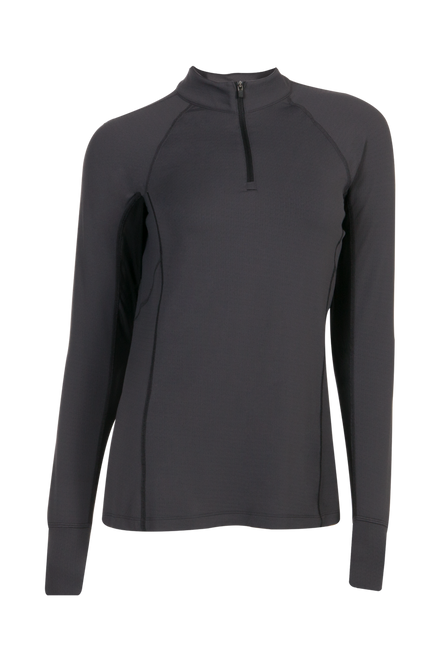 Ashley Performance Shirt - Asphalt/Black