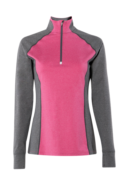 Athena Quarter Zip - DragonFruit