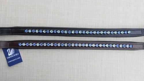True Blue Crystal Browband