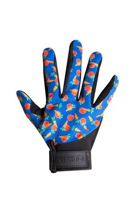 Kids' Perfect Fit Riding Glove - Apples & Carrots