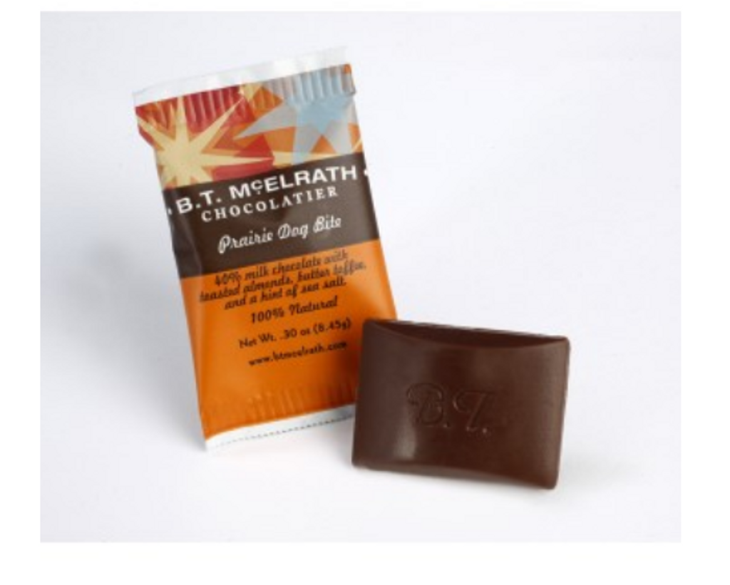 B.T. McElrath Prairie Dog Chocolate Bite