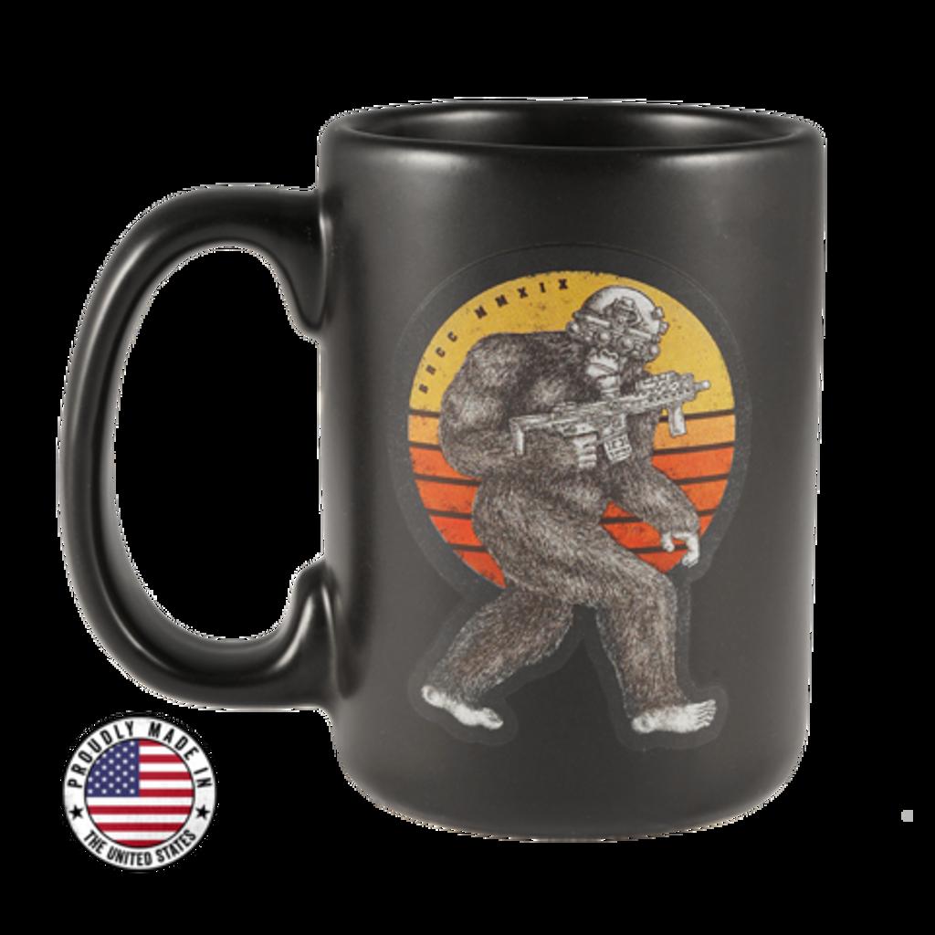 Sasquatch Ceramic Mug Black Rifle Coffee