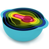 Joseph Joseph 8pc Multi Colour Nesting Food Prep Set