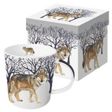 Winter Wolf Mug and Box