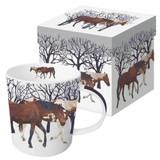 Winter Horse Mug and Box