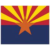 Magic Slice Cutting Board - Arizona Flag