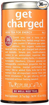 Get Charged No.3 Herbal Red Tea