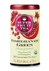Organic Pomegranate Green SuperFruit Tea