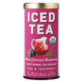 Organic Black Currant Rosemary Iced Tea