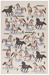 All The Pretty Horses Dishtowel