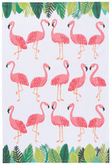 Flamingos Teatowel