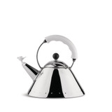 Alessi Kettle White With Bird Whistle