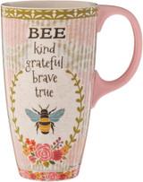Bee Kind Latte Mug