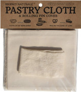 Regency Natural Pastry Cloth and Rolling Pin Cover Set