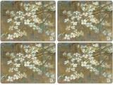 Pimpernel Dogwood in Spring Set of 4 Placemats