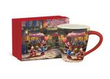 Mickey and Minnie Sweetheart Cafe Mug 17oz
