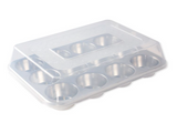 Muffin Pan 12 Cup with High-Domed Lid