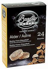 Bradley Smoker Alder Bisquette 24-Pack