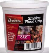 Smoker Wood Chips: Bourbon Soaked Oak