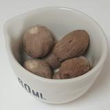 Nutmeg. Whole 4 Nutmegs