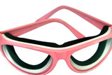RSVP Tear Free Onion Goggles with Pink Frames