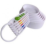 Curious Chef  6pc. Measuring Cup Set