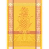 Garnier -Thiebaut L'Ananas Jaune Kitchen Towel