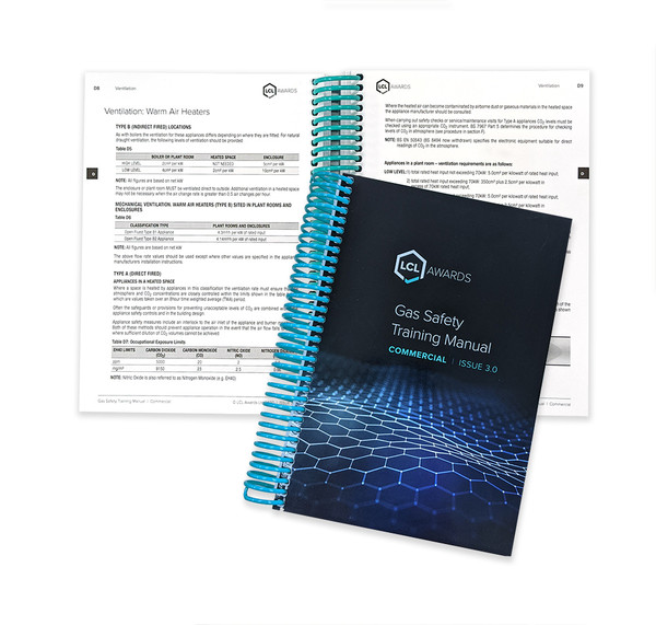 Commercial Gas Heating Training Manual, LCL Awards