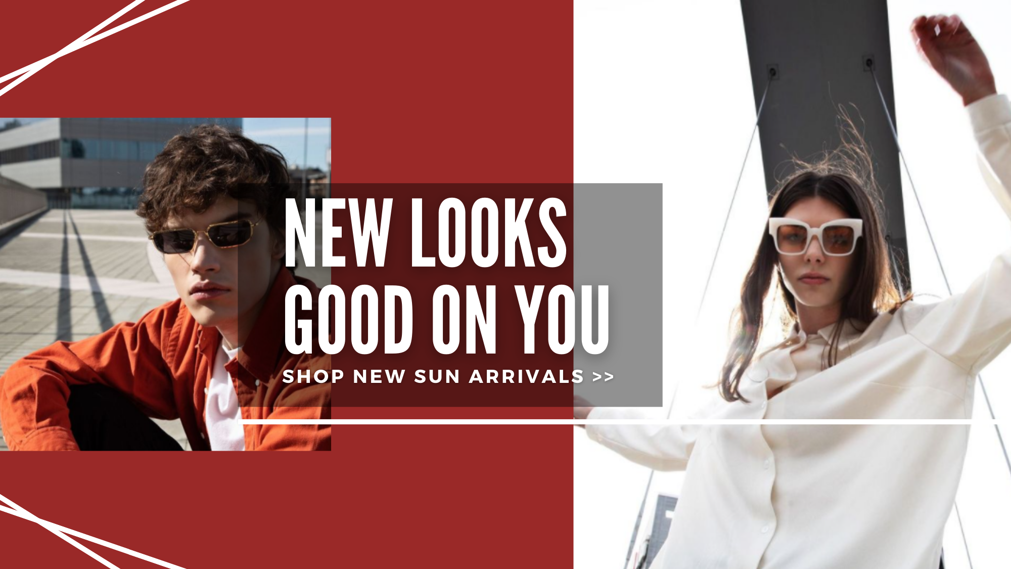 new looks good on you. shop new sun arrivals
