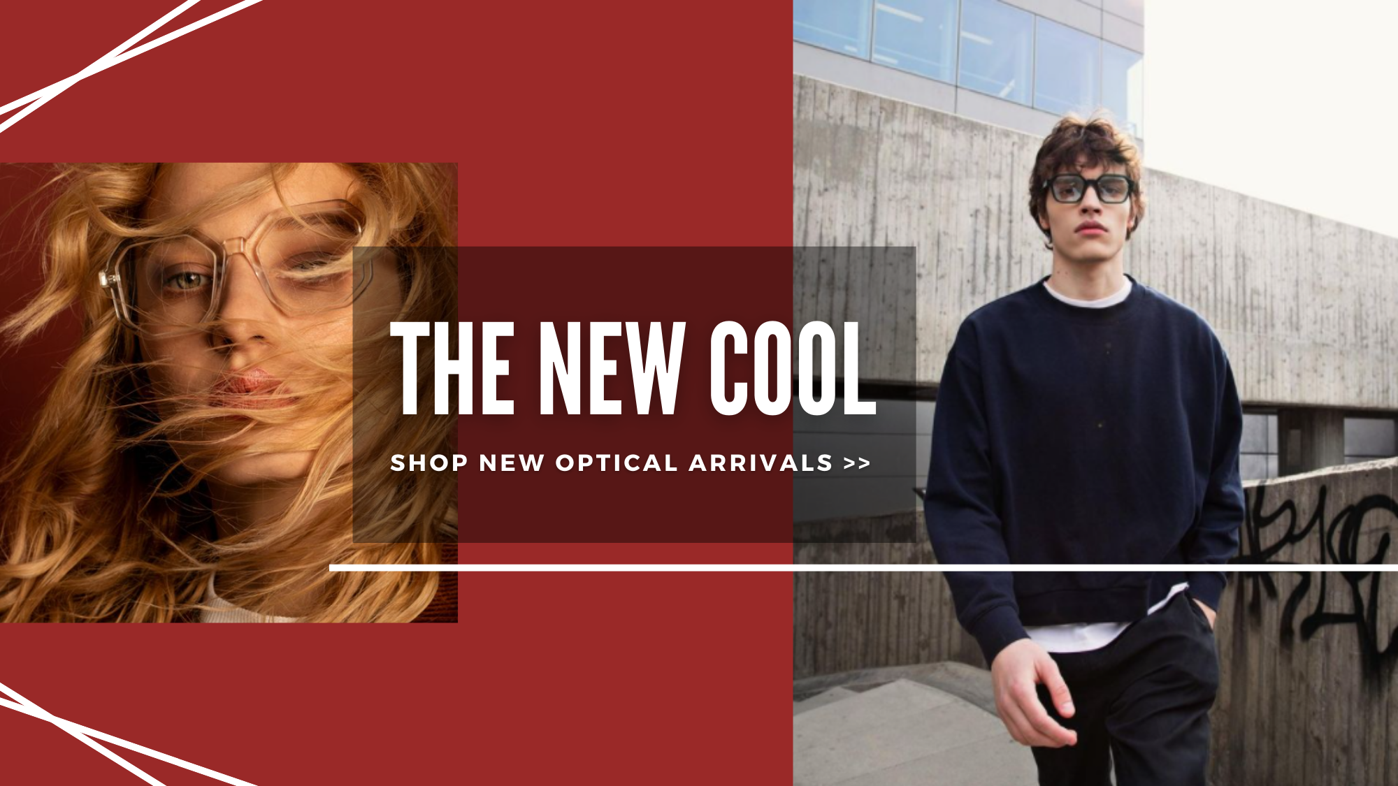 the new cool, shop new optical arrivals