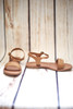 Margaret Braided Tan Sandals