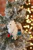 C&F Home Felt Llama Ornament