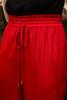 Crimson Class Flowing Wide Leg Pants waist view.