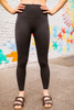 Activated Athletics Pine Seamless Textured Track Side Leggings