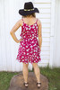 Orchard Bloom Dress in Plum