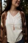 The Heather Grace Pendant Cluster Necklace