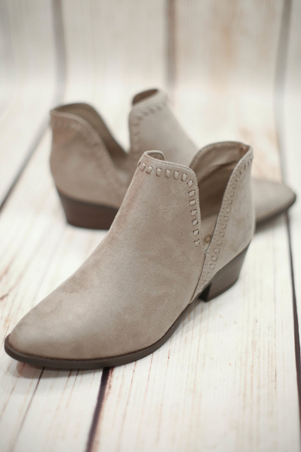 Virginia Clay Ankle Bootie