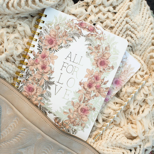 All For Love Spiral Notebook