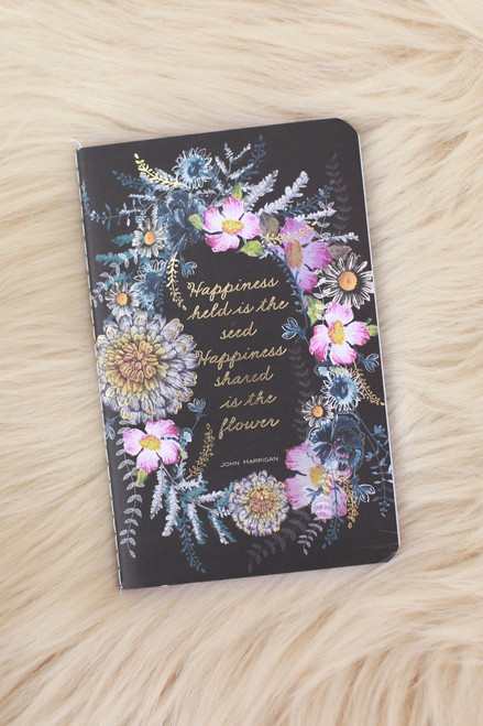 Papaya Happiness Mini Notebook