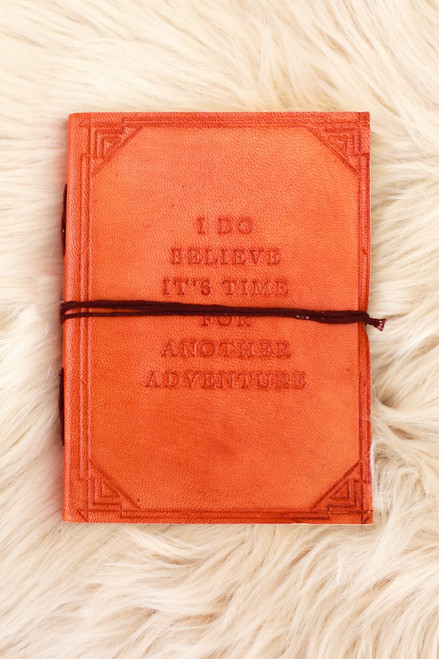 Soothi Another Adventure Handmade Brown Leather Journal