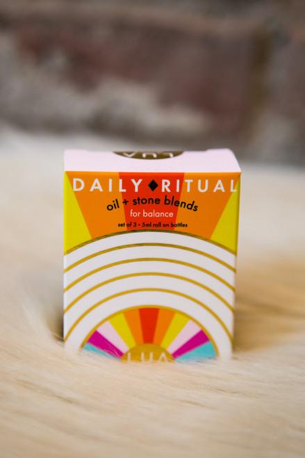 Lua Skin Care Daily Ritual - Oil & Stone Blends