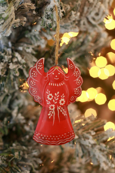 C&F Home Red Angel Sugar Cookie Ornament