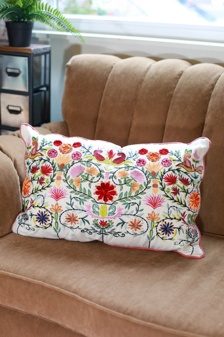 Pippa Deco Floral Pillow