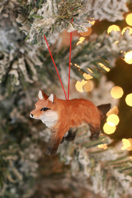 C&F Home Mini Fox Woodland Animal Ornament