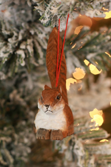 C&F Home Mini Squirrel Woodland Animal Ornament